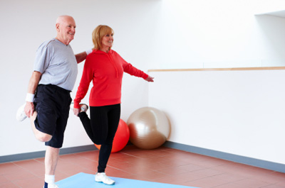 keep fit for over 50s