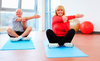 Over 50s Keep Fit Stretch and Tone with Paul Smith Personal