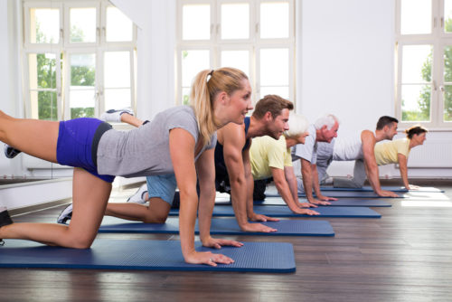 Pilates classes in Enfield